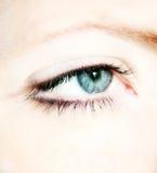 olho de uma mulher Fotografia de Stock Royalty Free