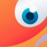 Olho de vidro Imagens de Stock