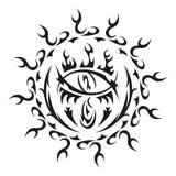 Olho do tatuagem do vetor Foto de Stock Royalty Free