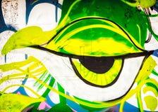 Olho dos grafittis Imagem de Stock