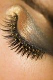 Olho dourado imagens de stock