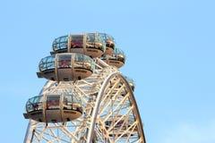 Olho Ferris Wheel de Londres Fotografia de Stock