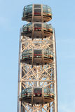 Olho Ferris Wheel de Londres Foto de Stock Royalty Free