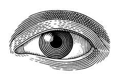Olho humano ilustração stock