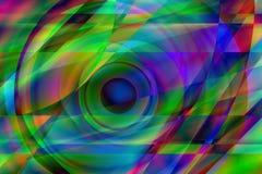 Olho Prismatic ilustração stock
