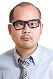 Olho transversal do negócio Fotografia de Stock