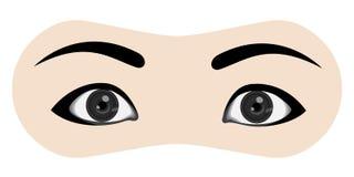 olhos Ilustração do Vetor