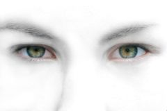 Olhos abstratos Fotos de Stock