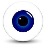 Olhos azuis ilustração stock