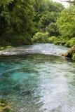 Olhos azuis, Albânia Imagem de Stock