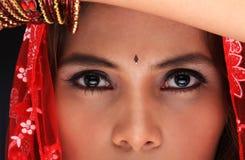 Olhos bonitos Foto de Stock Royalty Free