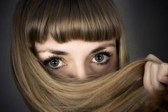 Olhos bonitos grandes Imagens de Stock Royalty Free