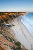 Olhos D'Agua, Algarve Photos stock