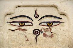 Olhos da Buda Imagem de Stock