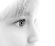 Olhos da criança fotos de stock