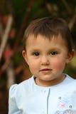 Olhos da criança do bebé fotografia de stock