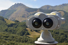 Olhos da montanha ao cerreto Fotografia de Stock