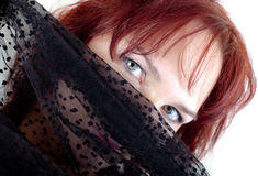 Olhos da mulher Foto de Stock Royalty Free