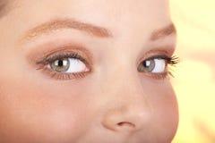 Olhos da mulher Foto de Stock
