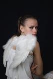 Olhos do anjo Foto de Stock