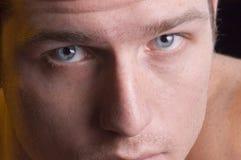 Olhos do assassino fotografia de stock