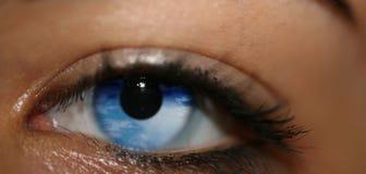 Olhos do céu Fotos de Stock Royalty Free