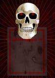 Olhos do crânio do incêndio Ilustração Royalty Free