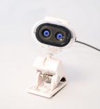 Olhos do espião da came da Web fotos de stock