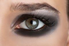 Olhos do fumo Fotos de Stock