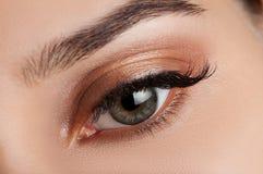 Olhos do fumo Imagem de Stock