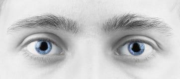 Olhos do homem Fotografia de Stock