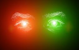 Olhos do homem Foto de Stock Royalty Free