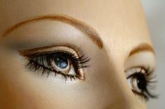 Olhos do manequim Imagem de Stock