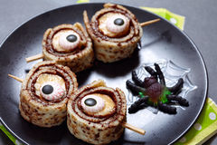 Olhos do monstro para Dia das Bruxas Imagem de Stock