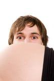 Olhos do pai Imagem de Stock