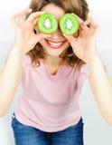 Olhos do quivi Foto de Stock