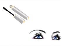 Olhos e mascara Fotografia de Stock