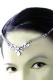 Olhos exóticos Fotografia de Stock Royalty Free