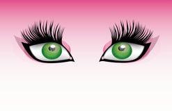 Olhos grandes Foto de Stock Royalty Free