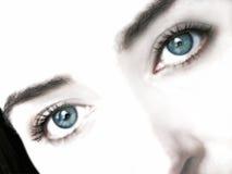 Olhos ideais Imagens de Stock Royalty Free