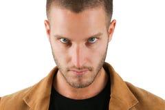 Olhos intensos Imagens de Stock Royalty Free