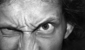 Olhos maus Imagens de Stock Royalty Free