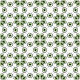 Olhos ou verde sem emenda do teste padrão dos grânulos Fotos de Stock