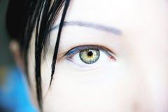 Olhos perspicaz do olhar imagem de stock royalty free