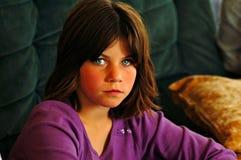 Olhos verdes) Imagens de Stock Royalty Free