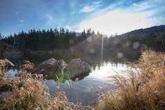 Olhovaya berg Ryssland, Primorye fotografering för bildbyråer