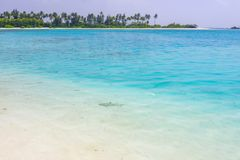 Olhuveli ö, Maldiverna Royaltyfri Fotografi