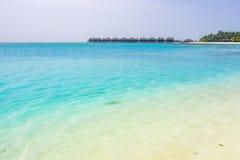Olhuveli-Insel, Malediven Stockbild
