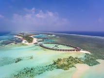 Olhuveli, Maldivas imagens de stock