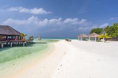 Olhuveli wyspa, Maldives Zdjęcie Royalty Free